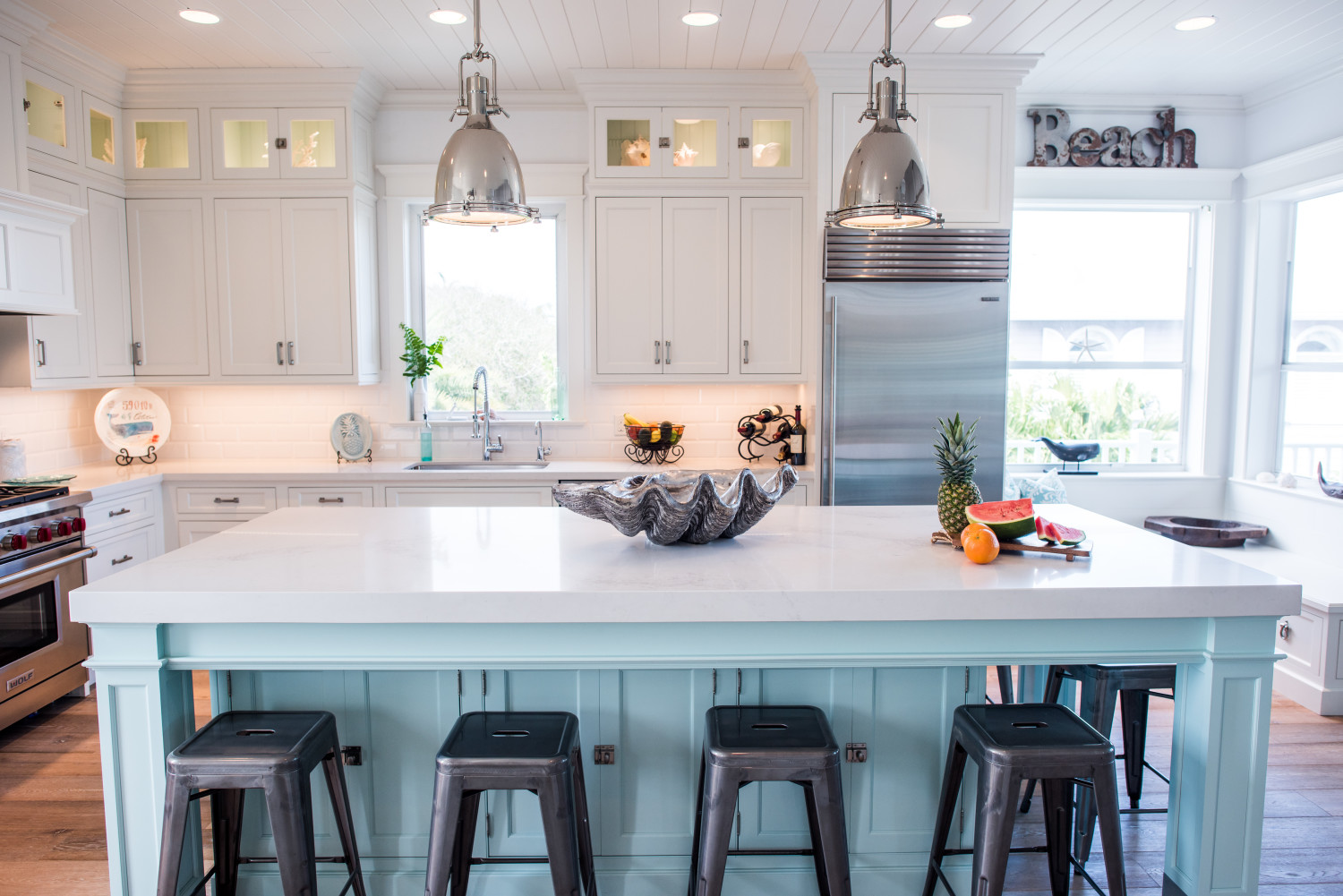 Coastal Kitchen Fabulous Room Friday Coastal Kitchen Veronica Bradley Interiors